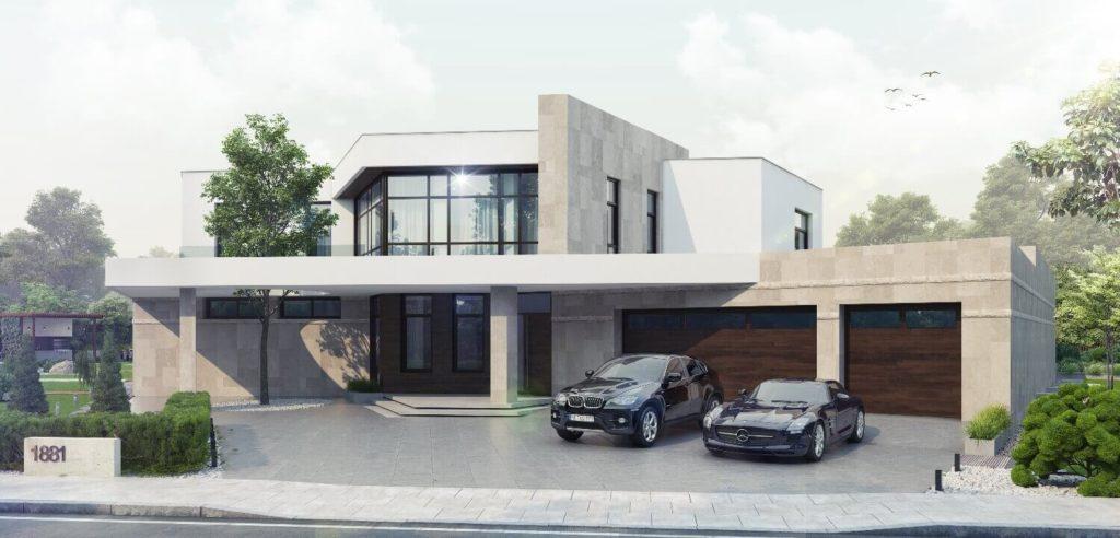 Реконструкция загородного дома. Балансирующие камни | VDT