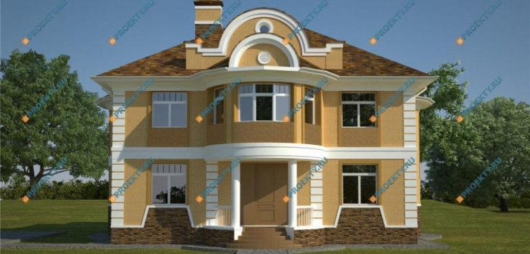 Популярные типовые проекты домов