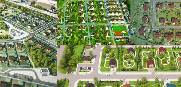 5 нестандартных концепций девелопмента земельных участков. №1 Арендный поселок
