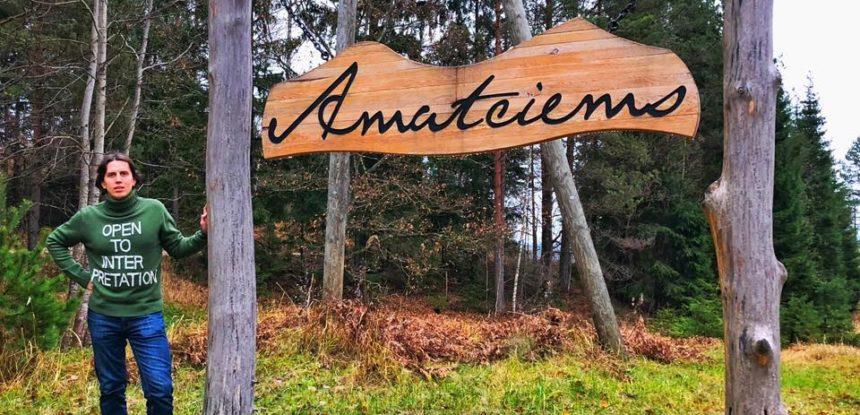 Поселок Amatciems в Латвии. Чай с чабрецом. Пенный брандспойт | VDT