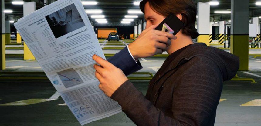 Сотовая связь в подземном паркинге
