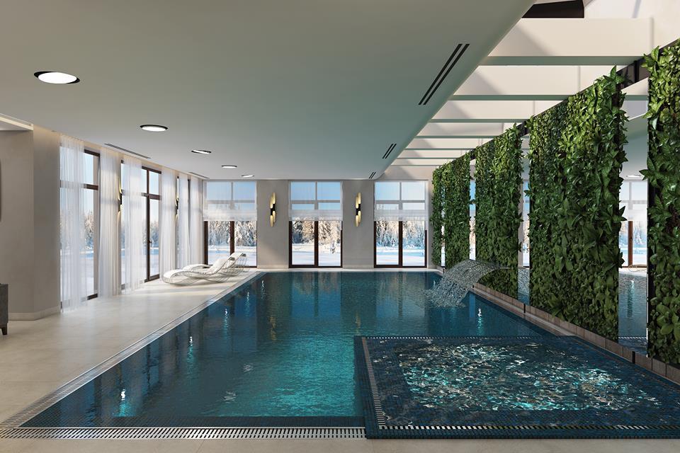 Зачем в доме 700+ кв.м. плавательный бассейн?