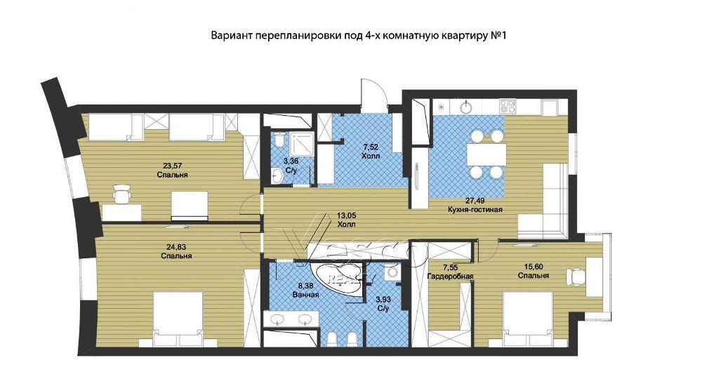 #REQuest S1E3. Обзор моей квартиры. Дом в Сокольниках   VDT
