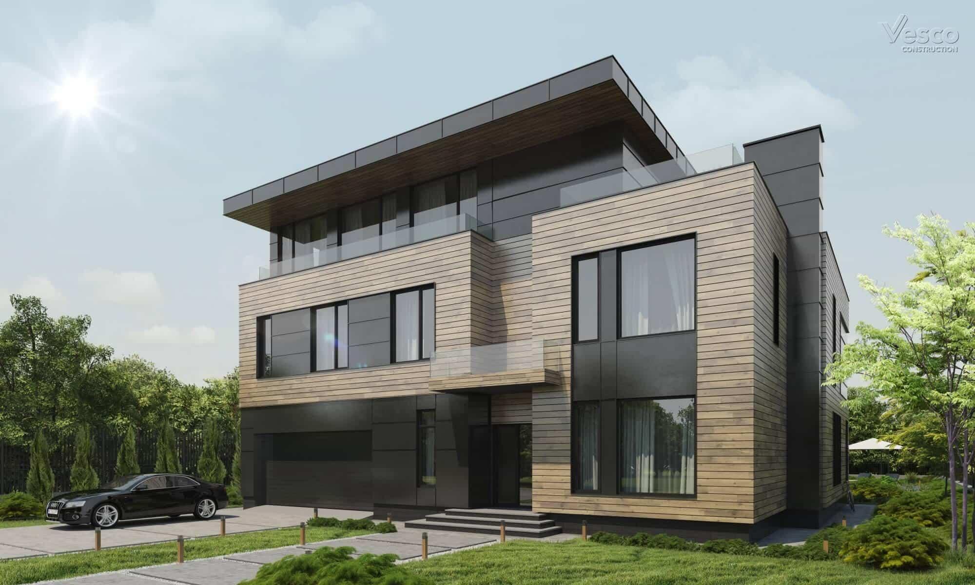 Почему современные дома лучше продаются? Признаки современного загородного дома   VDT