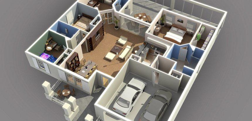 Планировка идеального загородного дома