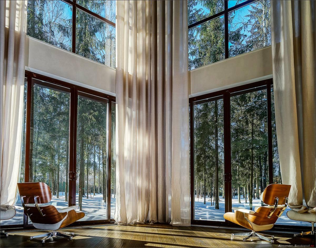 Как стирать по-настоящему большие шторы?